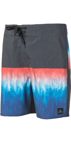 "2018 Rip Curl MIRAGE WILKO BLOCKER 18 ""Boardshorts Nero / Blu CBOGS4"