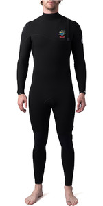 2020 Rip Curl Mens E-Bomb Pro 4/3mm Zip Free Wetsuit Black Searchers WSM8WE