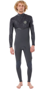2020 Rip Curl Mens E-Bomb 3/2mm Zip Free Wetsuit WSMYCE - Charcoal Grey