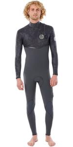 2020 Rip Curl E-bomb 3/2mm Zip Free Wetsuit Wsmyce - Cinza Carvão
