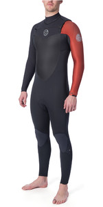2019 Rip Curl Flashbomb Heren Flashbomb 5/3mm Wetsuit Met Chest Zip Verbrand Oranje WST7df
