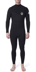 2019 Rip Curl Flashbomb Heren Flashbomb 5/3mm Gbs Zip Free Wetsuit Black WSM9FF