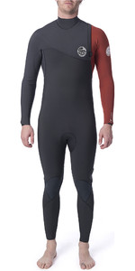 2019 Rip Curl Mens Flashbomb 5/3mm GBS Zip Free Wetsuit Burnt Orange WSM9FF