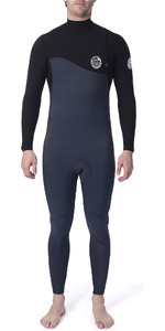 2020 Rip Curl Mens Flashbomb 3/2mm GBS Zip Free Wetsuit Slate WSM9CF