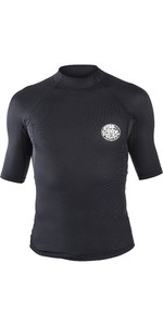 2019 Rip Curl Mens Hotskin 0.5mm Short Sleeve Neoprene Jacket Black WVE8HM