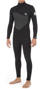 2019 Rip Curl Curl Omega 5/3mm Wetsuit Met Back Zip Zwart WSM8mm