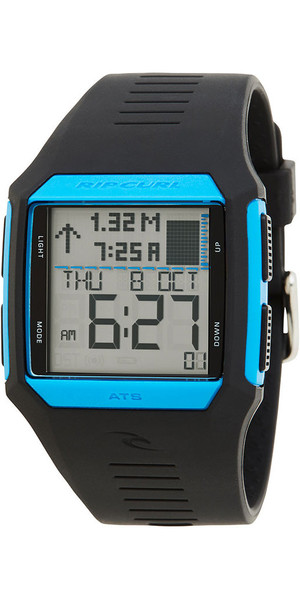 2019 Rip Curl Rifles Tide Surf Watch Azul / Negro A1119