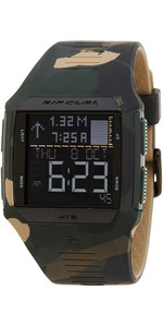 2019 Rip Curl Rifles Marea Surf Reloj Jungle Camo A1128