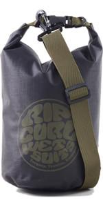 2021 Rip Curl Curl Surf Series 5L Dry Barrel Bag Butss5 - Zwart