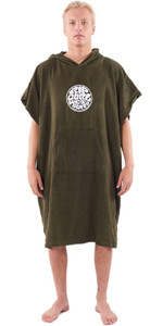 2020 Rip Curl Wet As Change Robe Poncho CTWCE1 - Dark Olive