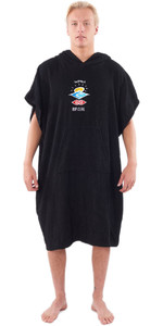 2020 Rip Curl Wet As Change Bata Poncho Ctwce1 - Negro Lavado