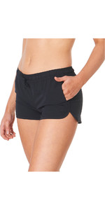 """2021 Rip Curl Mujer Classic Surf 3 """"boardshorts Gboat9 - Negro"""