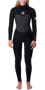 2020 Rip Curl Womens Flashbomb 3/2mm Wetsuit WSM9EG - Black