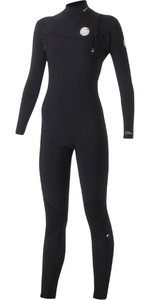Rip Curl Womens G-Bomb 3/2mm GBS Zip-free Wetsuit Black WSM5HG