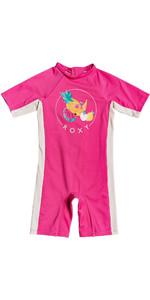 2020 Roxy Uv50 + Voorjaar Pak Erlwr03138 Meisje - Roze Flambe