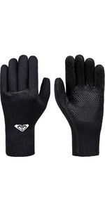 2019 Roxy Syncro Plus 3mm Liquid Flex Seal Neoprene Gloves Back ERJHN03150