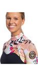 2020 Roxy Traje De Neopreno Con Chest Zip Pop Surf 3/2mm Para Mujer Erjw103047 - Negro / Terracota