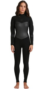 2020 Roxy Women's Syncro 5/4/3mm Våddragt Med Back Zip ErJW103056 - Sort / Jet Black