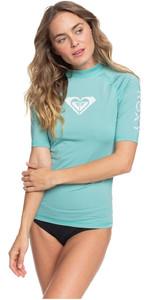2020 Roxy Vrouwen Geheel Hearted Korte Mouw Rash Vest Erjwr03409 - Kanton
