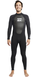 2019 Traje De Neopreno Billabong Intruder 3/2mm Flatlock Negro S43m03