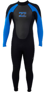 2018 Billabong Toddler Intruder 3/2mm Wetsuit in BLACK / BLUE S43B05
