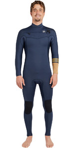 Billabong Revolução Tribong 3/2mm Chest Zip Wetsuit Ardósia Azul F43m16