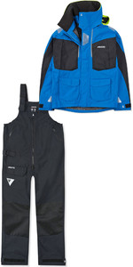 2019 Musto Mens BR2 Offshore Jacket SMJK052 & Trouser SMTR044 Combi Set Blue / Black