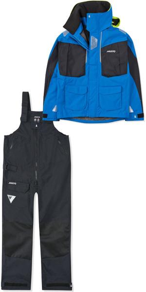 2019 Musto Mens BR2 Offshore Jacket SMJK052 & Trouser SMTR044 Combi Set Blue / Black