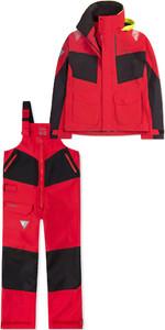 2019 Musto Mens BR2 Coastal Jacket SMJK055 & Trouser SMTR044 Combi Set Red