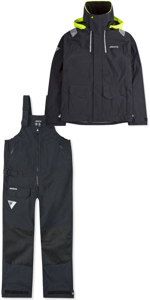 2019 Musto Mens BR2 Coastal Jacket SMJK055 & Trouser SMTR044 Combi Set Black