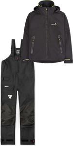 2019 Musto Mens BR1 Inshore Jacket SMJK056 & Trouser SMTR043 Combi Set Black
