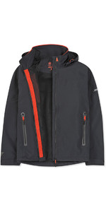 2019 Musto Mens Sardinia BR1 Jacket Black / Fire Orange SMJK057