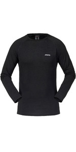 2019 Musto Merino Base Layer Long Sleeve T-Shirt Black SMTH027