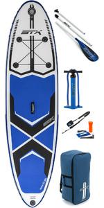 "2019 Stx 9'8 ""x 30"" Freeride Hinchable Stand Up Paddle Board , Paleta, Bolsa, Bomba Y Correa 70600"