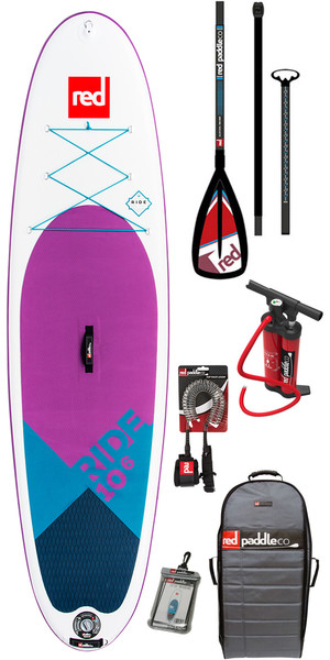 2018 Red Paddle Co Ride 10'6 Edición especial inflables Stand Up Paddle Board + bolsa, bomba, paleta y correa