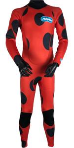 2019 Saltskin Junior 3/2mm Back Zip Wetsuit - Ladybird