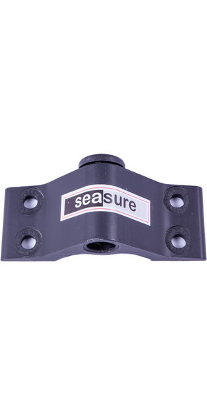 Sea Sure 10mm Bodem Transom Gudgeon 4-gats montage met koolborstel - 6 mm montagegaten