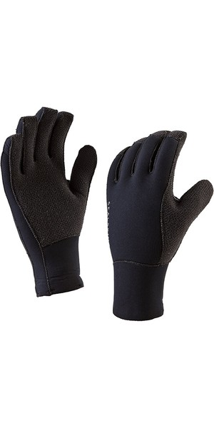 2019 SealSkinz Tough Gloves negro 1210054101