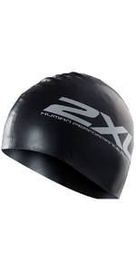 2xu Silikone 2xu Hat Sort Us1355