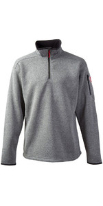 2018 Gill Herren Strick Fleece in Silber 1491