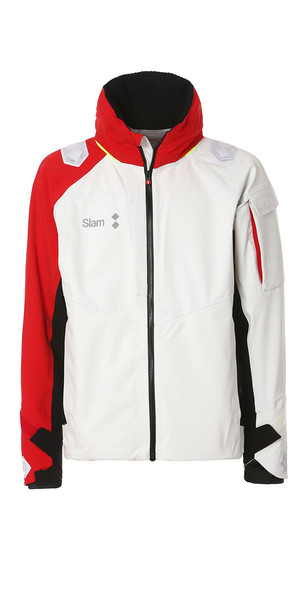 2019 Slam WIN-D Racing Jacket White / Slam Red S170014T00