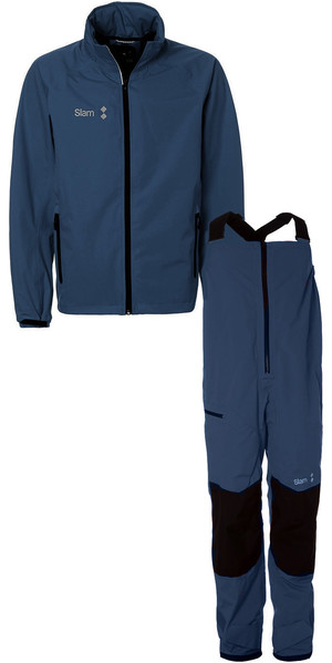 f6510d2aa818c 2019 Slam WIN-D Sailing Jacket + Trouser Combi Set Navy ...