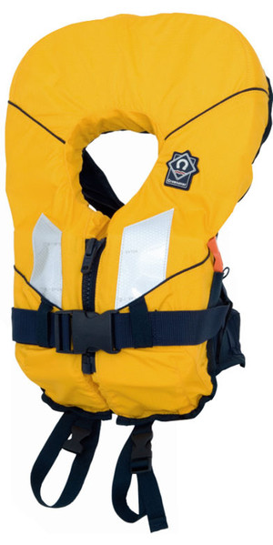 2018 Crewsaver Junior Spiral 100n Life Jacket in Yellow / Navy 2820 Child & Baby