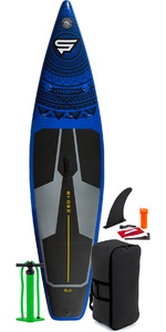 2021 Storm Tourer 11'6 Inflatable Stand Up Paddle Board Package - Board, Bag, Pump - Blue