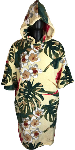 2019 TLS Hooded Poncho / Change Robe Vintage Hawaii