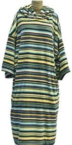 2021 TLS Hooded Change Robe Poncho - Mexican Stripe