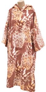 2020 Tls Poncho Con Cappuccio / Change Robe Poncho6 - Ananas Hawaiano