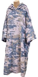 2020 Tls Poncho Com Capuz / Mudança Robe Poncho3 - Digi Camo