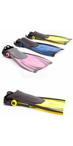 2019 Typhoon Kids Junior T-Jet Fins AMARILLO 33018