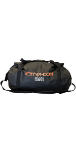 2020 Typhoon 60L Dry Bag Zwart 495014